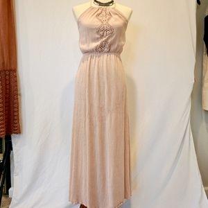Baby Pink Maxi Dress